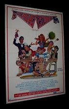 "Original FAST TIMES AT RIDGEMONT HIGH  Very Rare BRAZIL 1 Sheet 29 1/4"" x 41"""