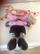 Kinder Goths Sized Bleeding Edge Goth doll skulls plush ARANIA Gothic 15""