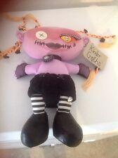 "Kinder Goths Sized Bleeding Edge Goth doll skulls plush ARANIA Gothic 15"""