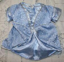 Build a Bear Workshop Shrek The Third Blue Dress Costume Teddy Clothing