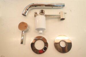 Artos opera F501-8CH wall mount lavatory faucet chrome