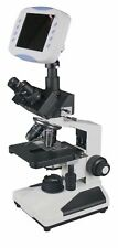 "Radical Research Quality Trinocular Microscope w 6"" LCD Monitor 2Mp TV Camera..."
