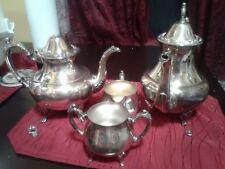 Georgian  scroll coffee/tea set made by Oneida