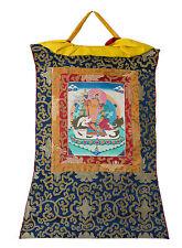 Thangka tibetain Vaisrana Kubera -Tangka Tenture Bouddhiste-61x47 cm-904