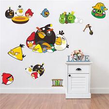 Angry Birds Pegatinas De Pared Reutilizable & transparente de vinilo en las infantil del