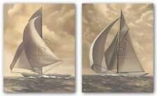 Tradewind Run and Sunny Breezes Set Vivien Rhyan Art Print 8x10