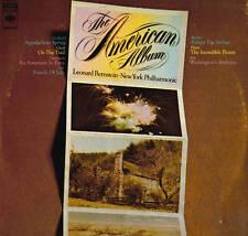 CLASSICAL LP AMERICAN ALBUM BERNSTEIN COPLAND GROFE GERSHWIN IVES BARBER