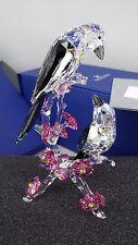 Swarovski Crystal Tutelary Spirit Loving Magpies Figurine 5004639