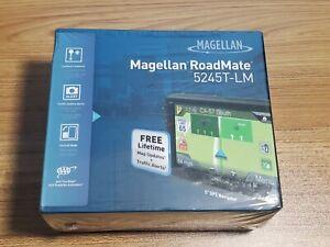 """NEW Magellan RoadMate 5245T-LM 5"""" GPS Navigator"""