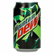 Mountain Dew , US-Kultgetränk 20 x 330ml - Koffeinhaltig, Softdrink