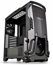 Thermaltake VERSA N24 Black ATX Mid Tower Gaming Computer Case With Power Cover
