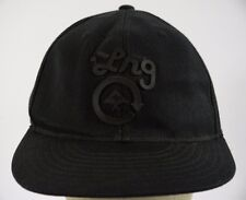 LRG Lifted Research Group Black Baseball Hat Cap Fitted Size 7 1/4 - 5/8