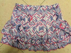 Lucky In Love Athletic Tennis Skort Skirt Shorts Medium (8-10) Multicolor