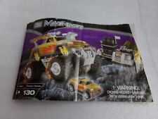 Mega Bloks Machines Rage! Instructions Manual Directions Booklet Only Ideas