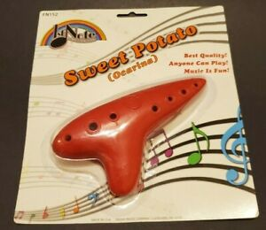 1st Note Sweet Potato Ocarina New Sealed Zelda