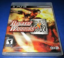 Dynasty Warriors 8 Sony PlayStation 3 *Factory Sealed! *Free Shipping!