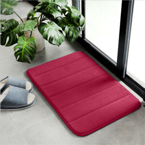 Anti-Slip Floor Carpet Water Absorbent Bathroon Mat Memory Foam Kitchen Rug