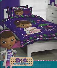 Doc McStuffins Duvet | Doona Quilt Cover Set | Disney | US Twin | Single