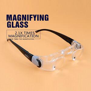 MaxTV Binocular TV Screen Magnifier Glasses for Presbyopes Distance TV Watching