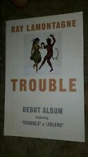 RAY-LAMONTAGNE-TROUBLE-1 POSTER-2 SIDED-12X18INCHES-NMINT