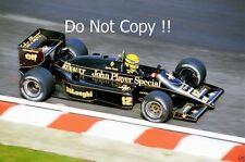 Ayrton Senna JPS Lotus 98T Belgian Grand Prix 1986 Photograph 1