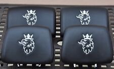 SAAB 9-3 93 2003-2012 AERO Headrest with Embroidered Logo Set of Four Not HIRSCH