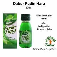 10 X Herbal Care Stomach Ache Gas Indigestion Dabur Pudin Hara Active 30ml QD370