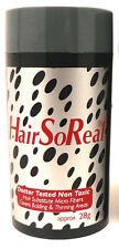 1 Hair So Real HSR BLACK Hair care product Get rid of bald spots FREE SHIPPING