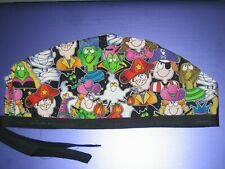 Surgical Scrub Hats/Cap Halloween Trick or Treat   Monster Party