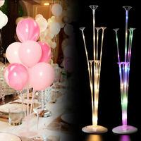 Hochzeit Luftballon LED Ständer Halter Steck Basis Party Tisch Table Dekoration