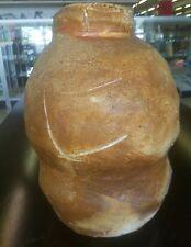 Antique Chinese Ming Dynasty Stoneware Brown Glazed Vase