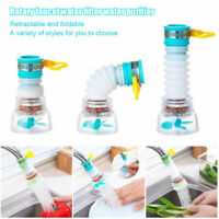 Booster Shower Kitchen Home Water Filter Tap Head 360° Rotating Faucet Nozzle US
