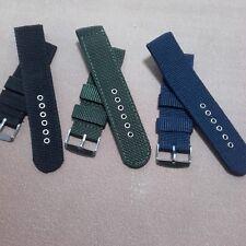 18mm - 20mm - 22mm Strap Correa Reloj Nylon Pulsera Watch band