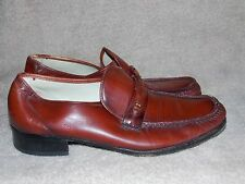Florsheim PENNY Loafers Brown Leather 9.5D For Men Used