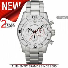 Emporio Armani Sportivo Men's Watch│Chronograph Dial│Stainless Steel Band│AR5932