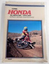 CLYMER Honda XL/XR75-100 1975-1997 Service Repair Manual NEW