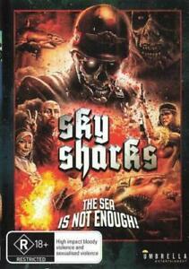 Sky Sharks (DVD) NEW/SEALED [Region 4]