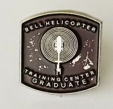 Bell Helicopter Pin Badge Training Center Graduate Rare Vintage (L37)