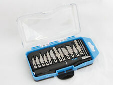 16 PC PRECISION KNIFE SET RAZOR BLADE EXACTO CUTTING TOOL ARTS & CRAFT HOBBY KIT