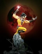 WOLVERINE UNMASKED ACTION STATUE BY BOWEN DESIGNS, SCULPTED BY RANDY BOWEN