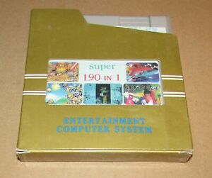 Super 190 in 1 for Nintendo NES Fast Shipping! Authentic