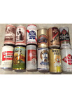 Twelve (12) Vintage Beer Cans Featuring Rheingold and Pabst
