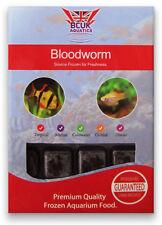 BCUK Frozen Fish food-11 x 100g blister packs--BLOODWORM