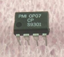 OP07 PMI OP Amp 8-Pin DIP : 2pcs per lot