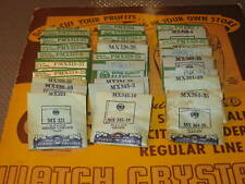 NOS Watch Crystal- Various Sizes For Gruen  Watches