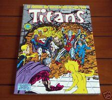 TITANS N°112 1988 Marvel LUG - TTBE ! #1