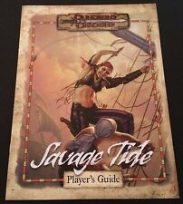 D&D 3.5 SAVAGE TIDE PLAYER'S GUIDE Paizo PZO Dungeons and Dragons OGL D20 NEW!