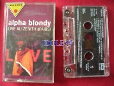 Cassettes audio live