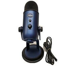 Nice Blue Microphones - Yeti Usb Multi-Pattern Electret Condenser Microphone