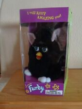 New Original Vintage Furby Tiger Electronic 1998 black/white Never Played With !